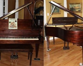 Packard Piano Company 1920-40's Baby Grand Piano