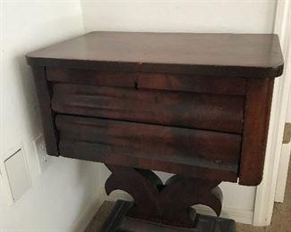 Antique accent table 29 t x 23.25 w x 15 d