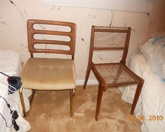 2 MCM Side Chairs