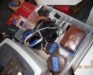 Camera Equipment (Lenses and Cameras)