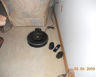 Roomba Vacuum system
