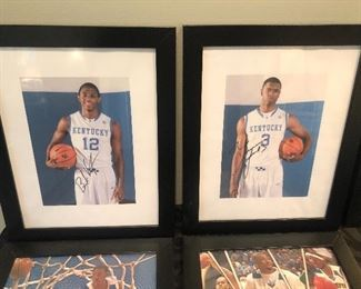 AUTOGRAPHED NBA PICTURES