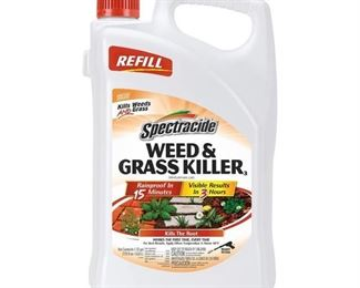 8- 1.33 GALLON WEED AND GRASS KILLER Spectracide Weed Control Supplies 1.3 gal. Weed and Grass Accushot Refill HG-96371