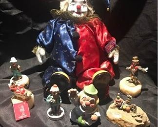 A Variety of Clowns