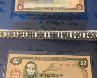 Bank of Jamaica 1, 2, 5, 10 UNC Notes