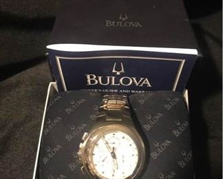 Bulova Chronograph Watch