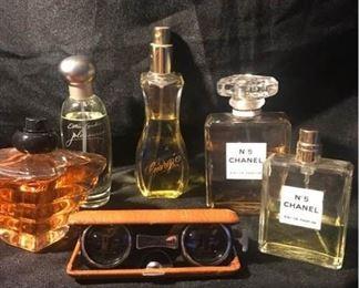 Chanel No 5, Giorgio, Tresor Perfumes