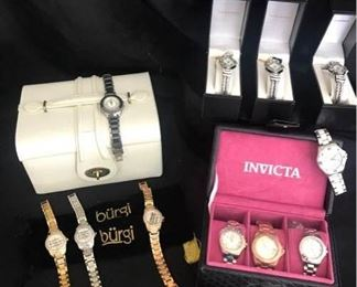 Fashion Watches and Jewelry Boxes