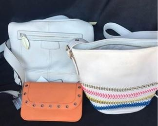 Two Coach Purses and New Wallet