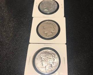 US Silver Dollars 1920s