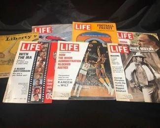 Vintage Life Magazines from the 70s