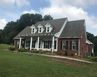 The lovely home of Judi Riggins Banks Moore