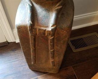 Tall clay / ceramic planter