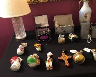 COLLECTABLE CHRISTMAS ORNAMENTS