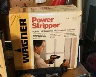 Wagner paint stripper