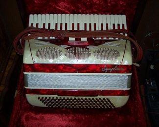 Symphonic accordion, its gorgeous