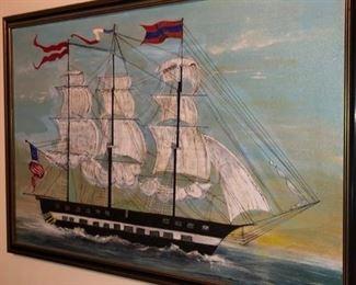 Nautical art & wall decor
