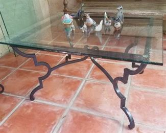 Custom wrought iron tables