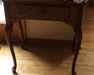 Antique Sewing Machine in Cabinet
