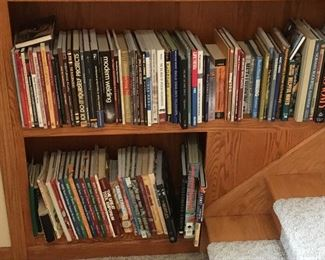 Many Woodworking and Other Books