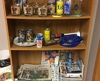 Brewers Baseball Collection & Other Sports Memorabilia