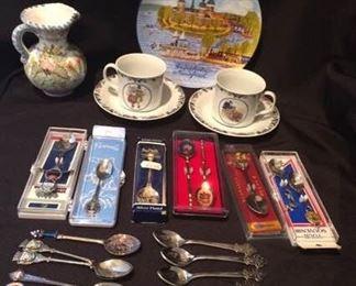 Decorative Spoons and Teacups https://ctbids.com/#!/description/share/212878