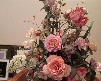 Large Silk Flower Arrangement https://ctbids.com/#!/description/share/212889