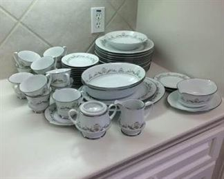Noritake China in Early Spring Pattern https://ctbids.com/#!/description/share/212894