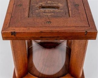 Lot 396 - Rare Antique National Ballot Box Amos Pettibone