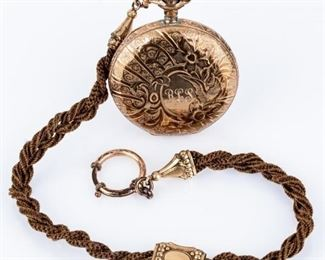 Lot 20 - Antique Elgin Hunter Case 11 Jewel Pocket Watch