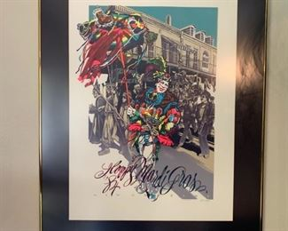 MARDI GRAS PRINT '84        Add to your collection