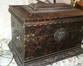 Captain Jack Sparrow's treasure chest ... no, not really