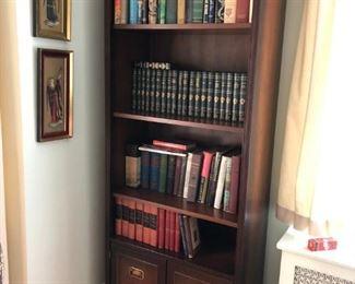 Book Case, Books