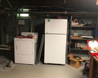 Washer, Dryer, Refrigerator