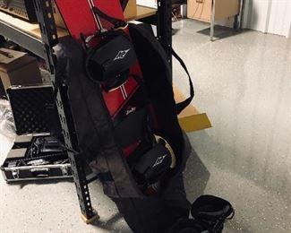 JuJu snowboard, FreeRide boots