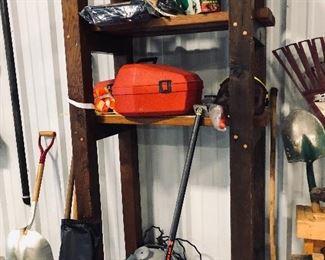 chain saw, shop vac