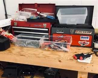 tools, tool boxes