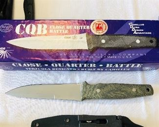Camillus Close Quarter Battle Tactical knife.