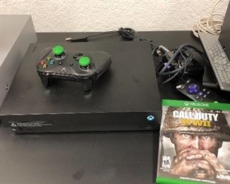 Xbox  with hand control