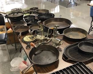 lots of cast-iron