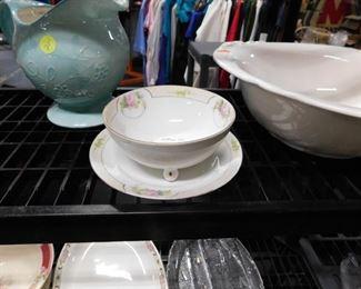 2 pc Nippon bowl & plate
