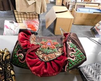 Ornate beaded purse New with tags