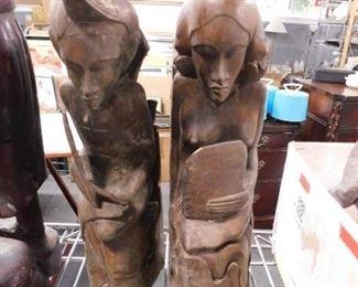 Antique Carved African art