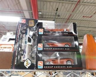 Assorted model cars new in box