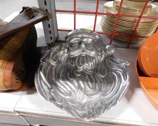 Aluminum Santa tray