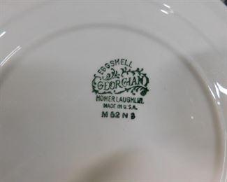 Homer Laughlin Georgian Eggshell M62 N assorted china (not complete)