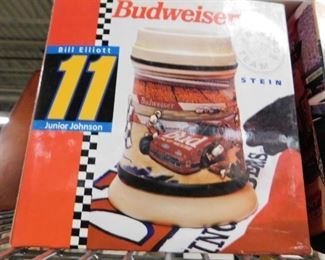 Assorted Budweiser collectible stein new in box