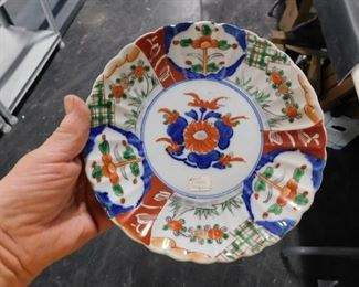 Hand painted collectible plate