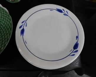(2) Hand Painted Made in Italy plates