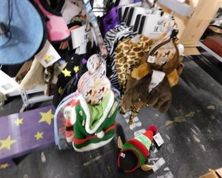 Assorted new dog Halloween & Christmas costumes
